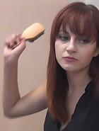 Phoenix Askani spanks her boyfriend