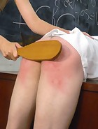 Kade spanked at school