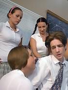 Kade spanked at school