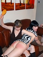 New Year's Farewell Spanking