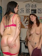 Kay spanks Nikki