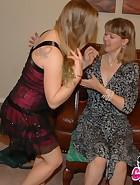 Clare spanks Stevie