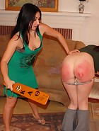Veronica's Move In Spanking & Paddling