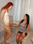 Jenna and Maddy try Spanking
