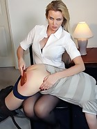 Boss Spanks Worker