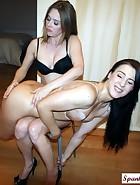 Nude Spankings
