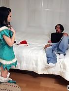 Brandi Spanks Her Boyfriend, pic #1