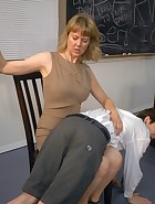 Kade spanked at school, pic #2