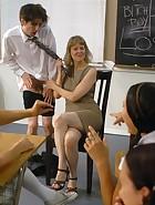 Kade spanked at school, pic #3