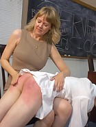 Kade spanked at school, pic #5