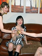 New Year's Farewell Spanking, pic #1