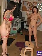 Kay spanks Nikki, pic #13