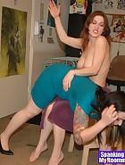 Kay spanks Nikki, pic #3