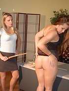 Madison spanked by her Boss, pic #14