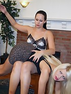 Anikka Albrite and Mary Jane Spank Each Other, pic #2