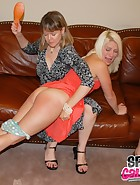 Clare spanks Kat, pic #12
