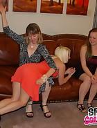 Clare spanks Kat, pic #3
