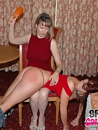 Clare Spanks Audrey, pic #11