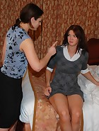Ten spanks Veronica, pic #1