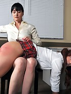 Spanked in Front of Class, pic #2