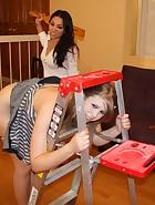 Roxy Punishes Christy Hard, pic #12