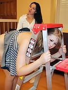 Roxy Punishes Christy Hard, pic #13