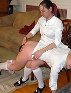 4 girls spanking, pic #9