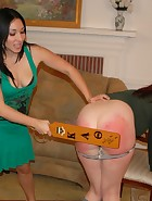 Veronica's Move In Spanking & Paddling, pic #13