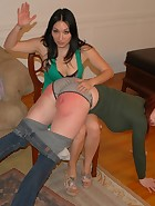 Veronica's Move In Spanking & Paddling, pic #2