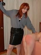 Mom Spanks & Belts Veronica for Masturbating, pic #11