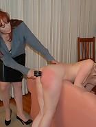 Mom Spanks & Belts Veronica for Masturbating, pic #12