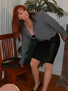 Mom Spanks & Belts Veronica for Masturbating, pic #7