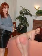 Mom Spanks & Belts Veronica for Masturbating, pic #8