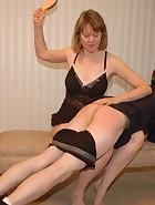 Clare spanks Kade, pic #13