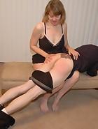Clare spanks Kade, pic #10