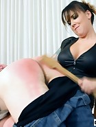 Emily Parker Spanks College Boy, pic #9
