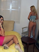 Spank over an outfit, pic #11