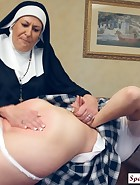 Sister Mary Chris punishes Jenni, pic #12