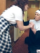 Sister Mary Chris punishes Jenni, pic #4