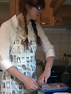 Spanking in the Kitchen, pic #1