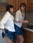 Spanking in the Kitchen, pic #11