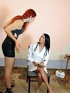 Nurse Spanking, pt. 2, pic #1