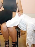 Nurse Spanking, pt. 2, pic #7