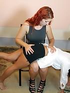 Nurse Spanking, pt. 2, pic #8