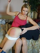 Landlord spanks her Tennant, pic #14