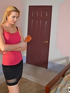 Landlord spanks her Tennant, pic #3