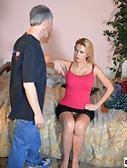 Landlord spanks her Tennant, pic #4