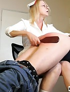 Nurse Spanks Daughter's Boyfriend, pic #12