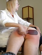 Nurse Spanks Daughter's Boyfriend, pic #14