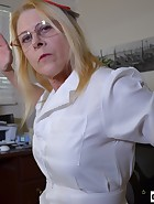 Nurse Spanks Daughter's Boyfriend, pic #5